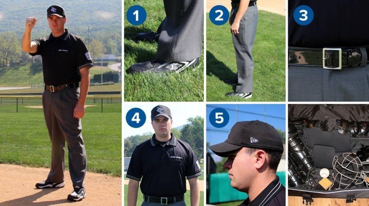 24827141082 Looking Official  The Umpire Uniform - Little League