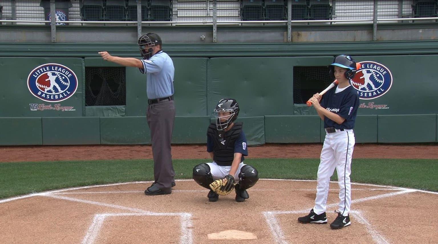 umpire check swing
