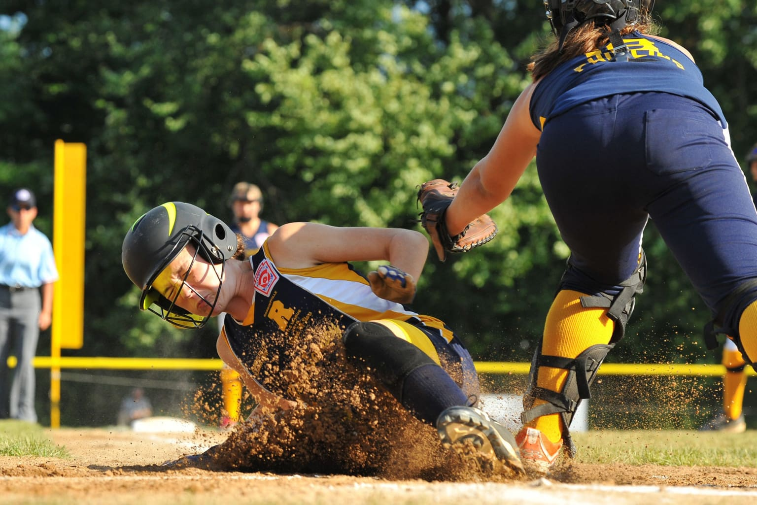 Hey, Blue! - That Player Has to Slide! - Little League
