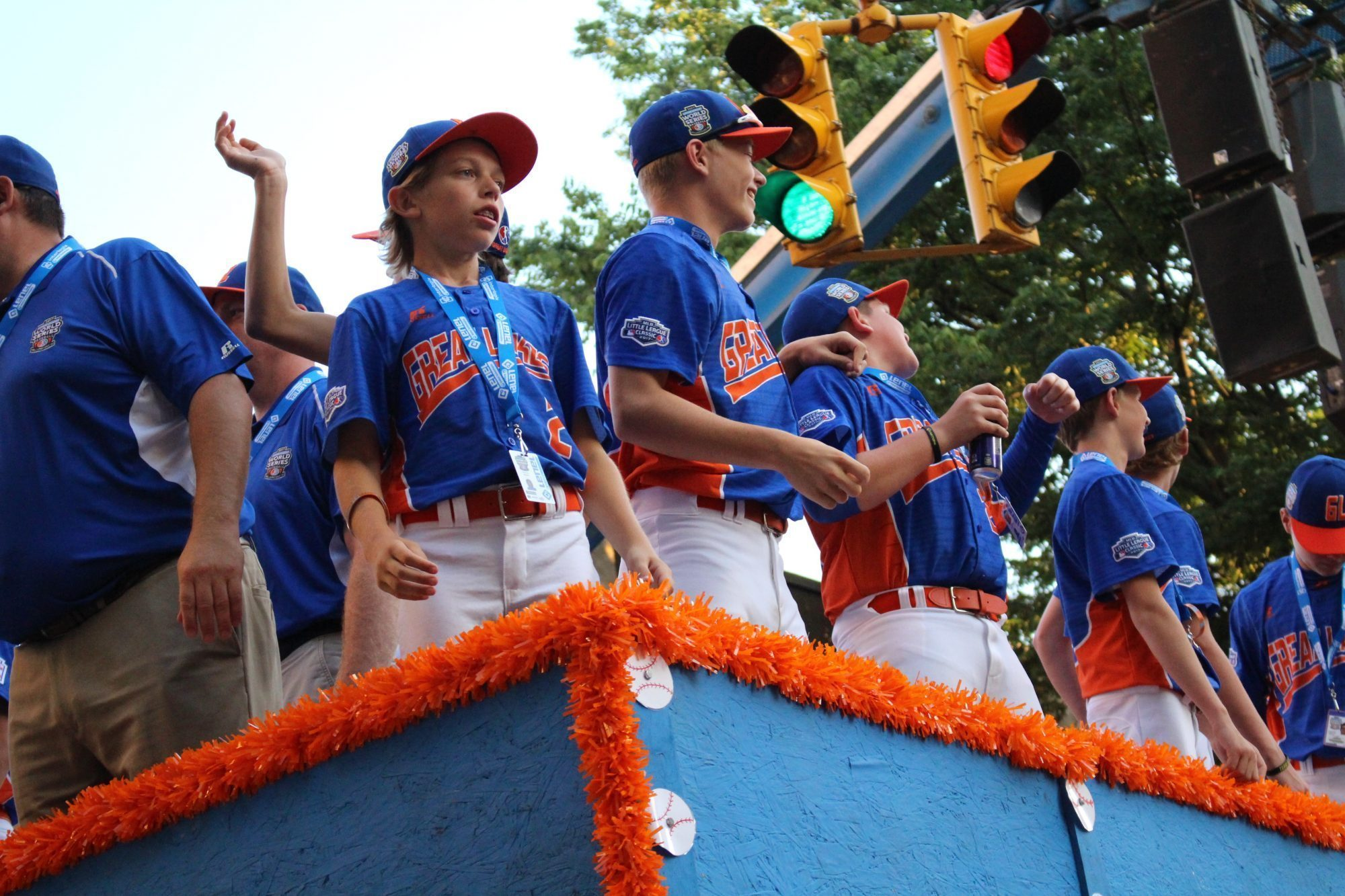 Great Lakes in Parade