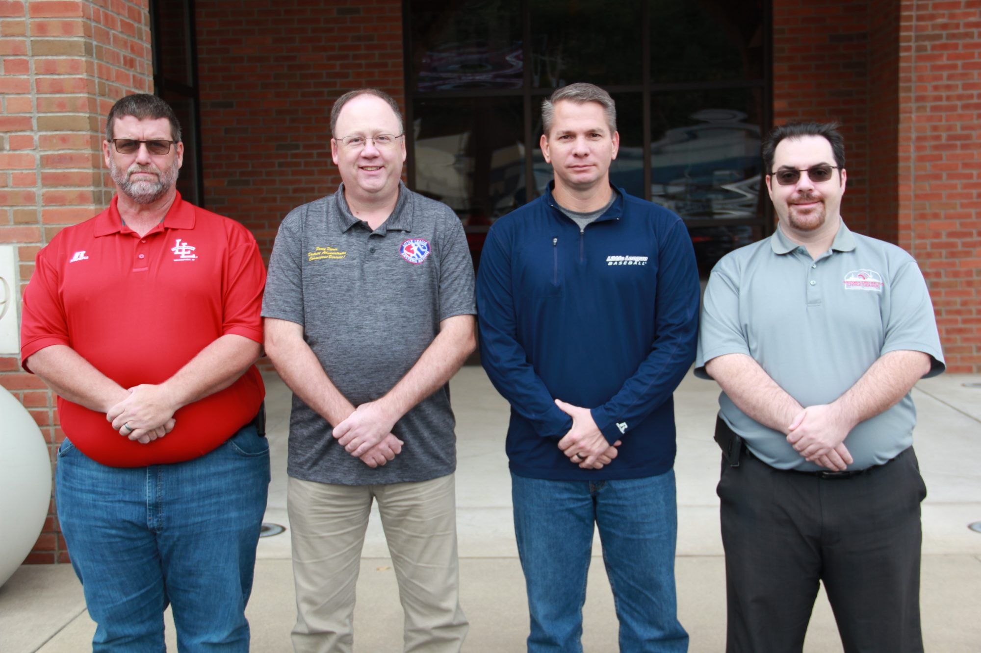 New Advisory Board Members (L to R): Derek Lisby, Perry Pierce, Roman Jones, and Carl Thompson
