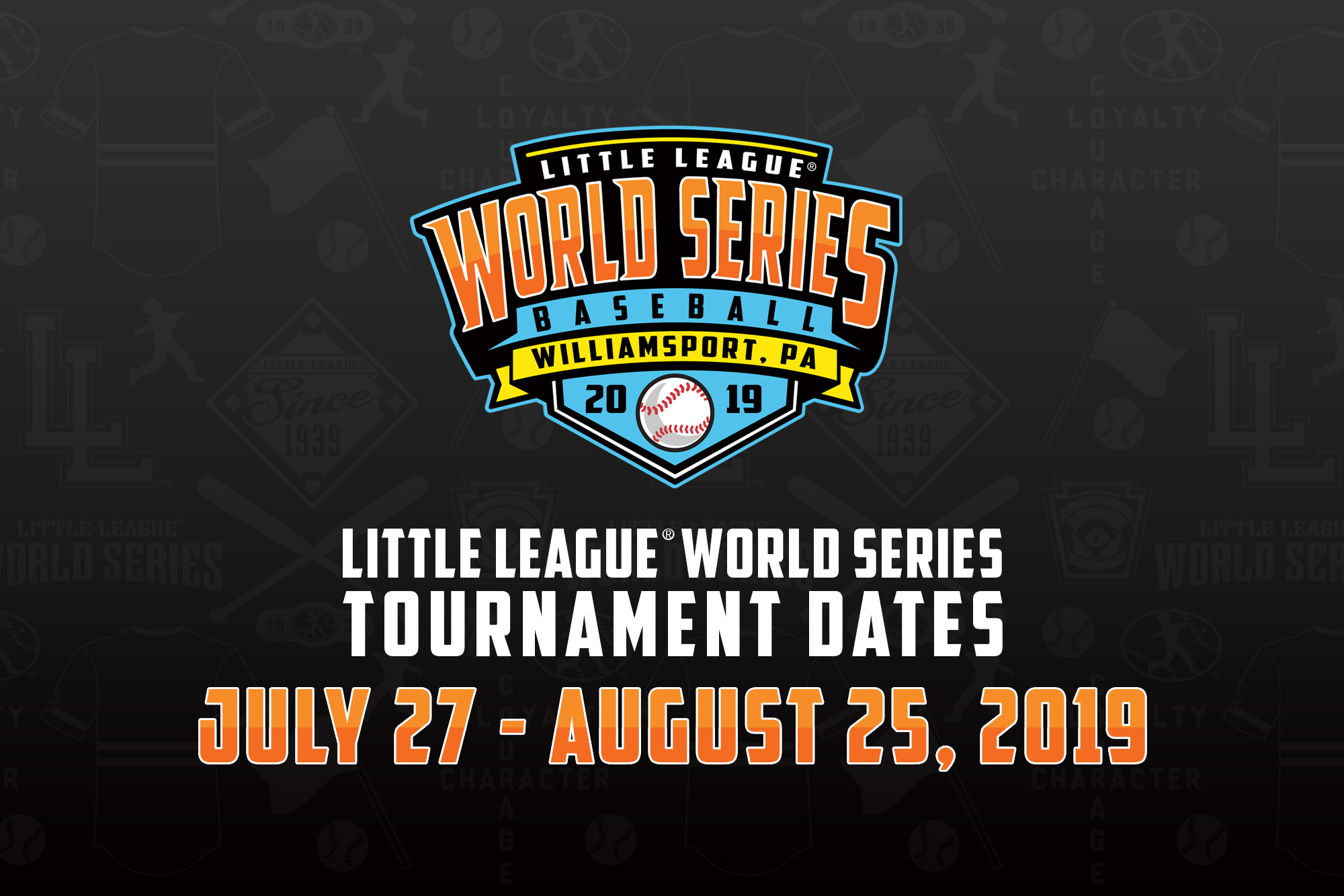 Dates and Logos for the 2019 Little League® World Series
