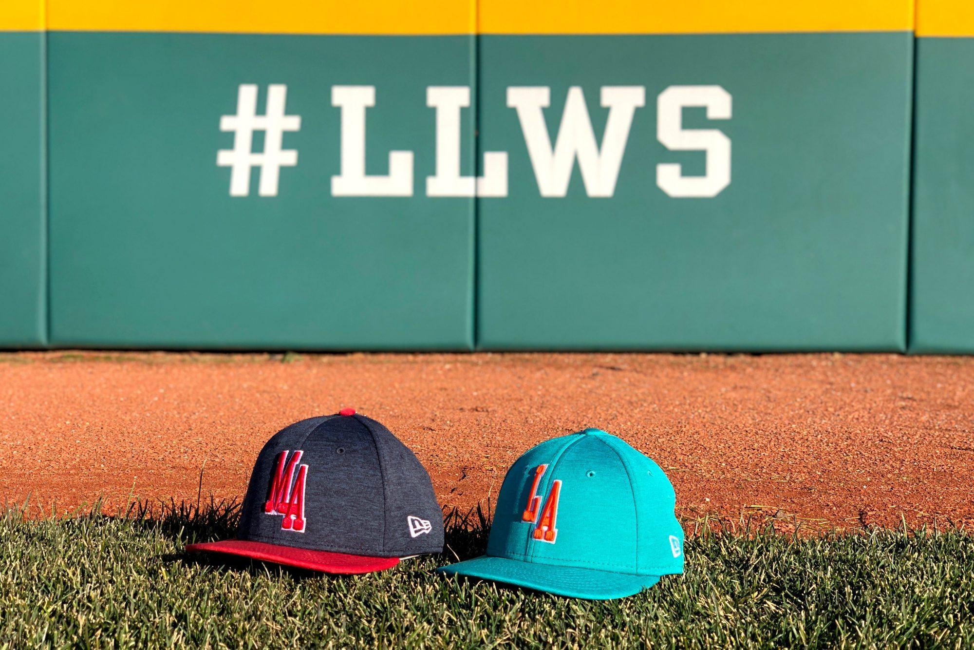 New Era Caps on LLWS Fields
