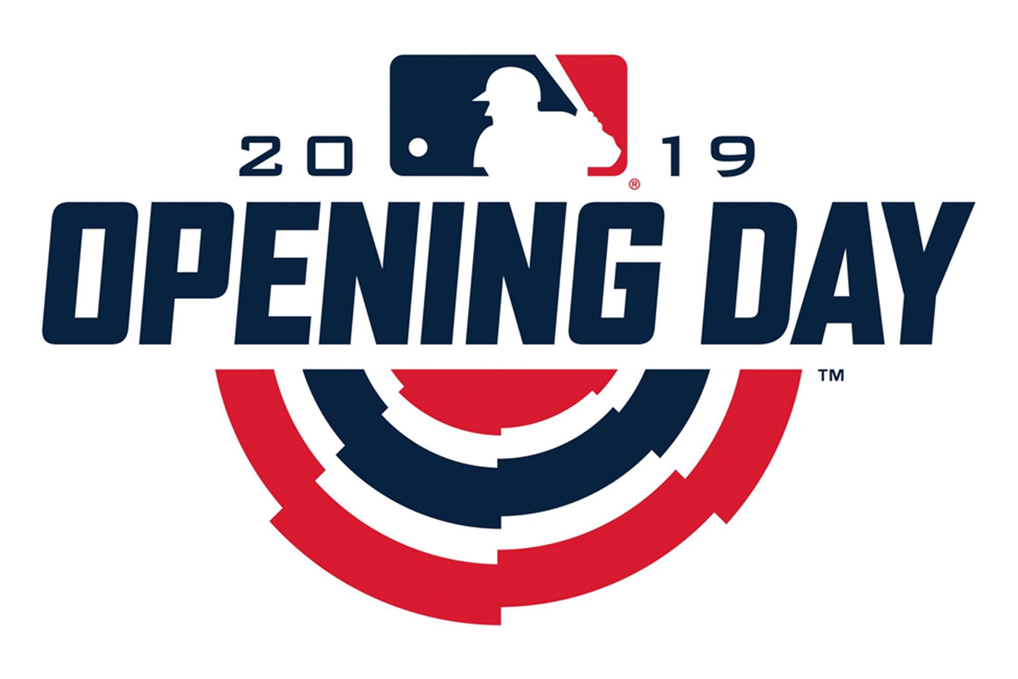 MLB Opening Day Logo 2019
