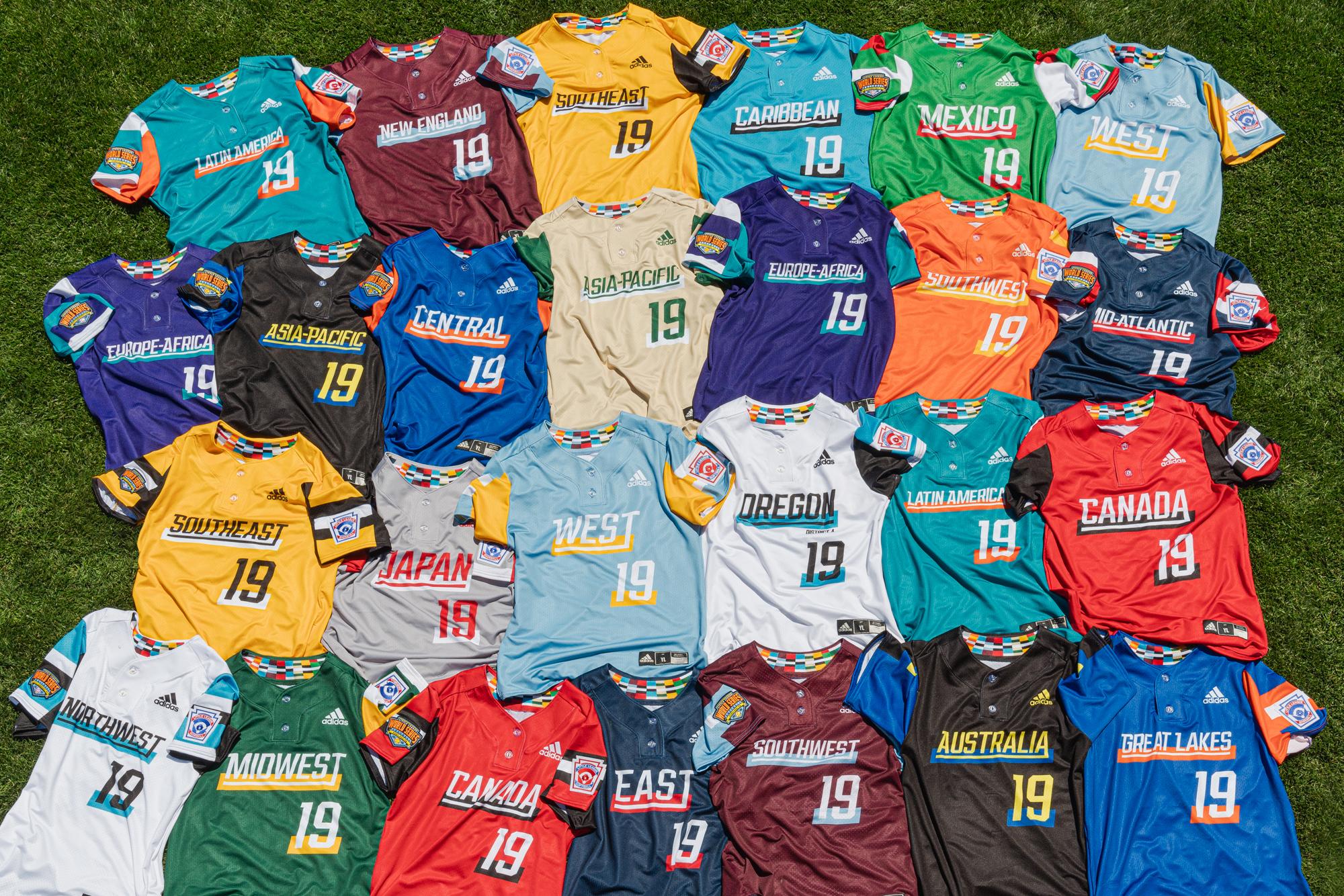 9da0cabda adidas and Little League® Unveil Uniforms for the 2019 Little League  Baseball & Softball World Series Tournaments - Little League