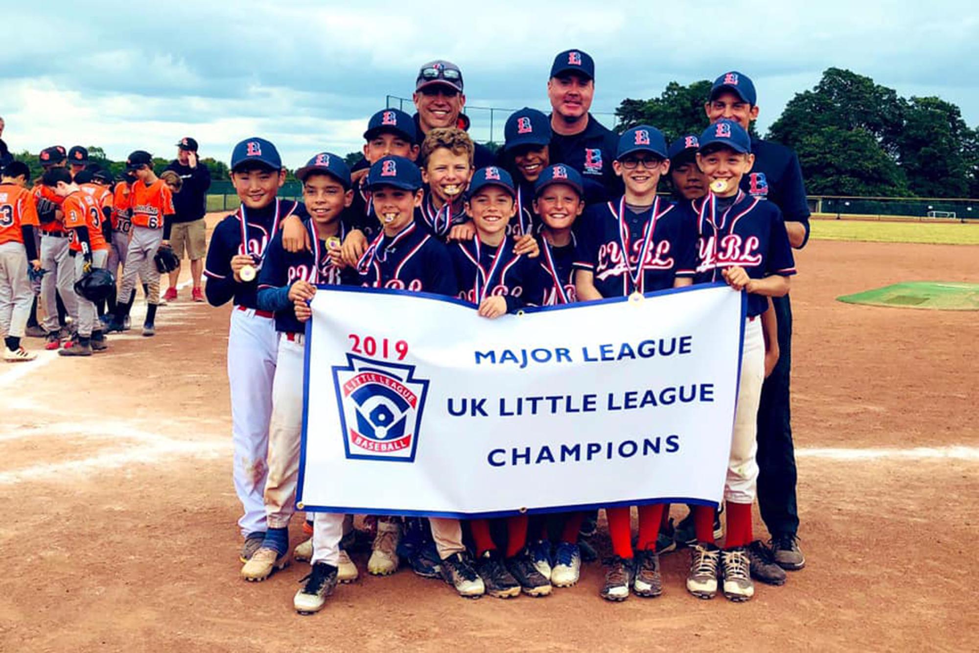 London Youth Baseball League wins 2019 UK National Qualifier