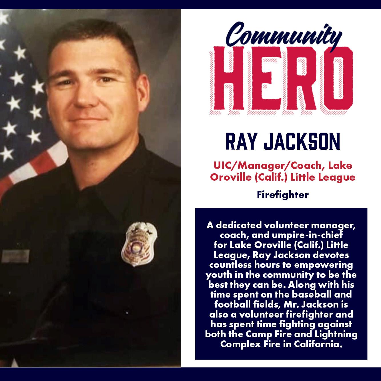 Ray Jackson Community Hero