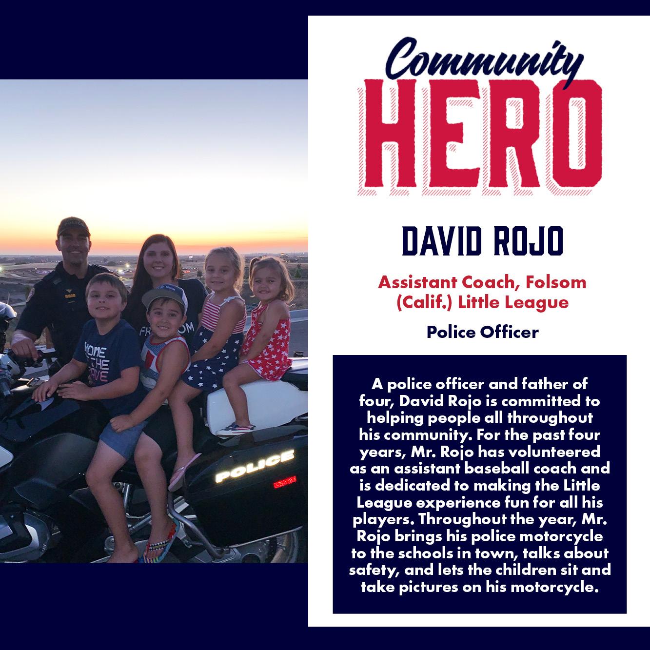 David Rojo Community Hero