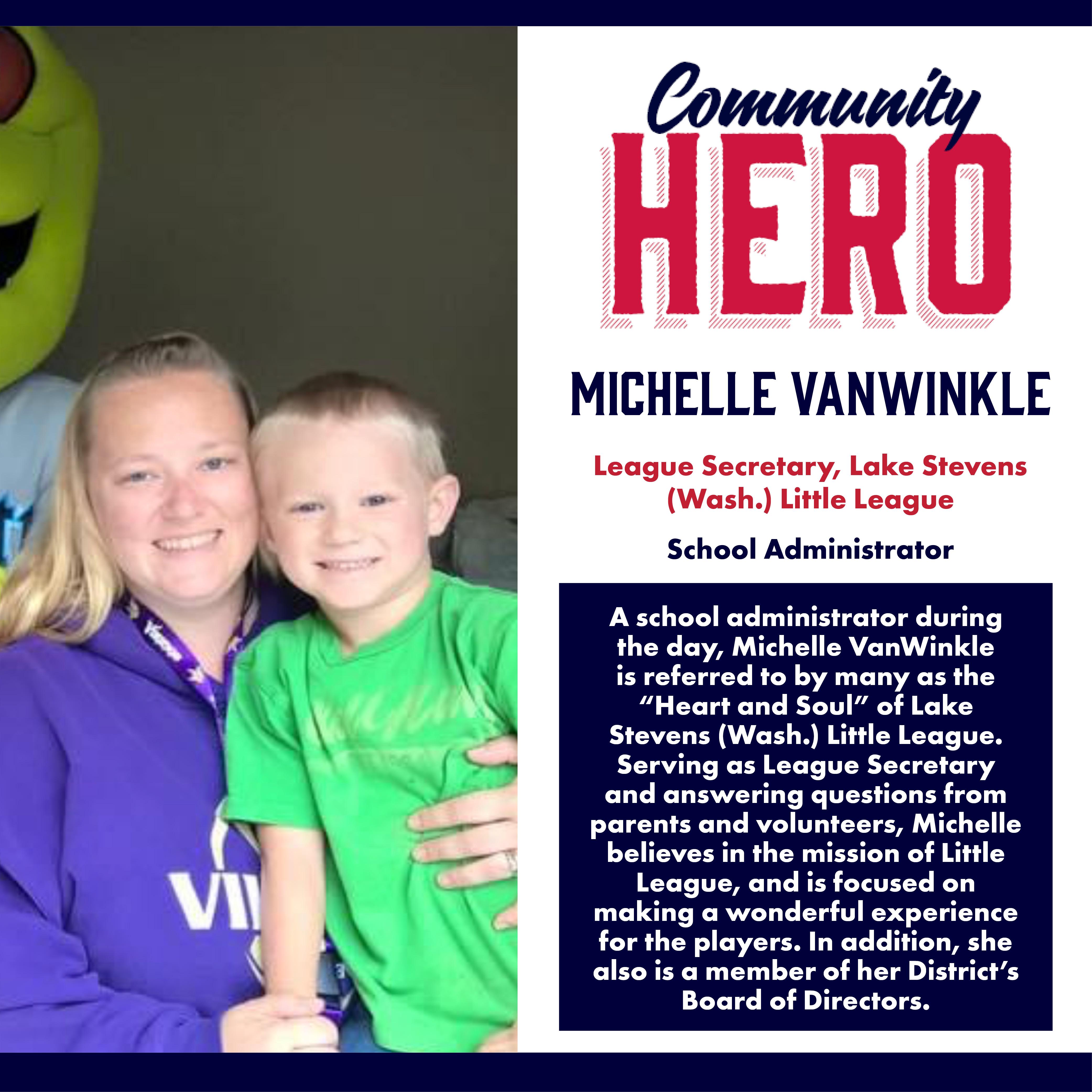 Michelle VanWinkle Community Heroes