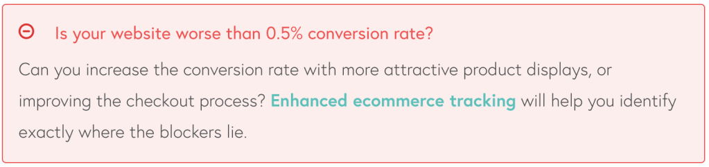 ecommerce conversion rate optimisation