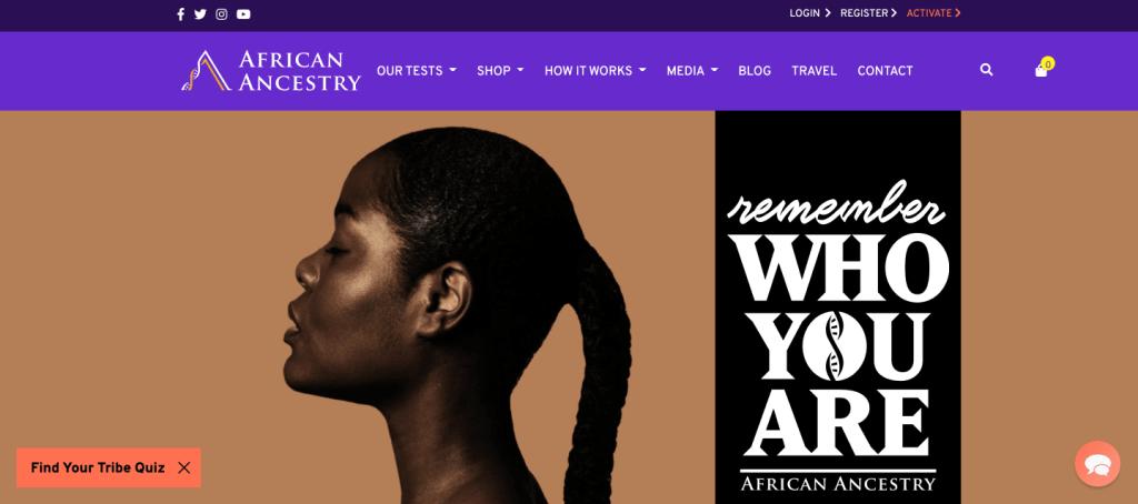 africanancestry.com
