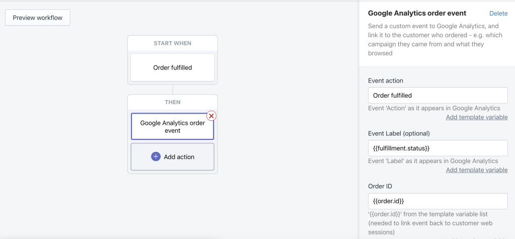 Introducing Shopify Flow connectors for Google Analytics