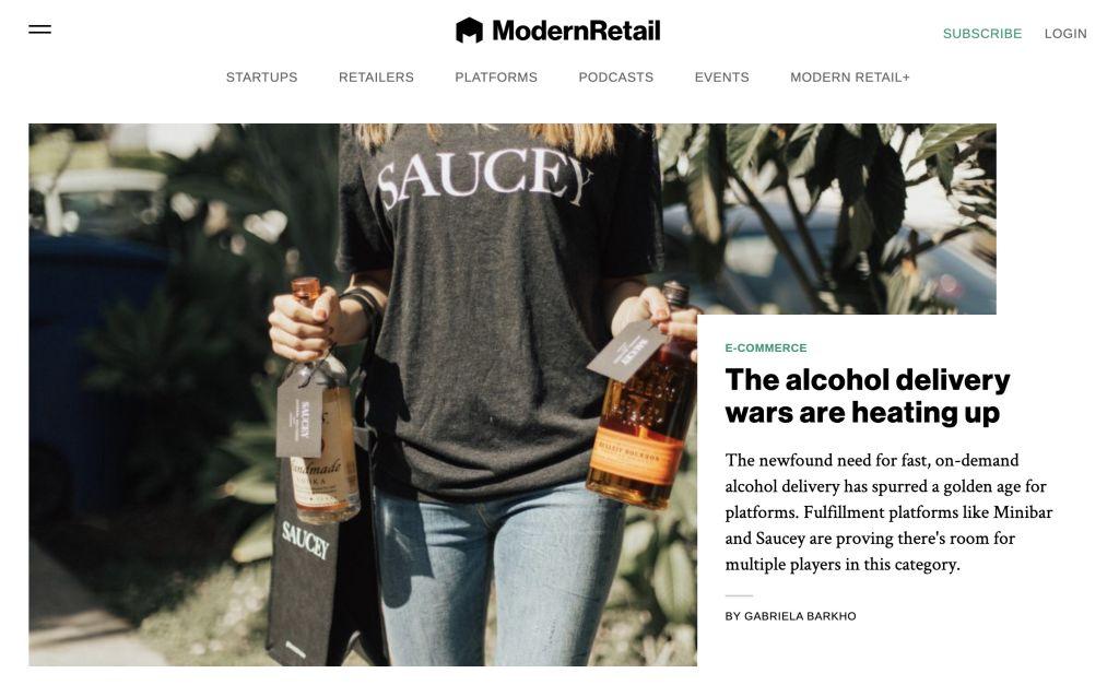 Modern Retail online ecommerce blog