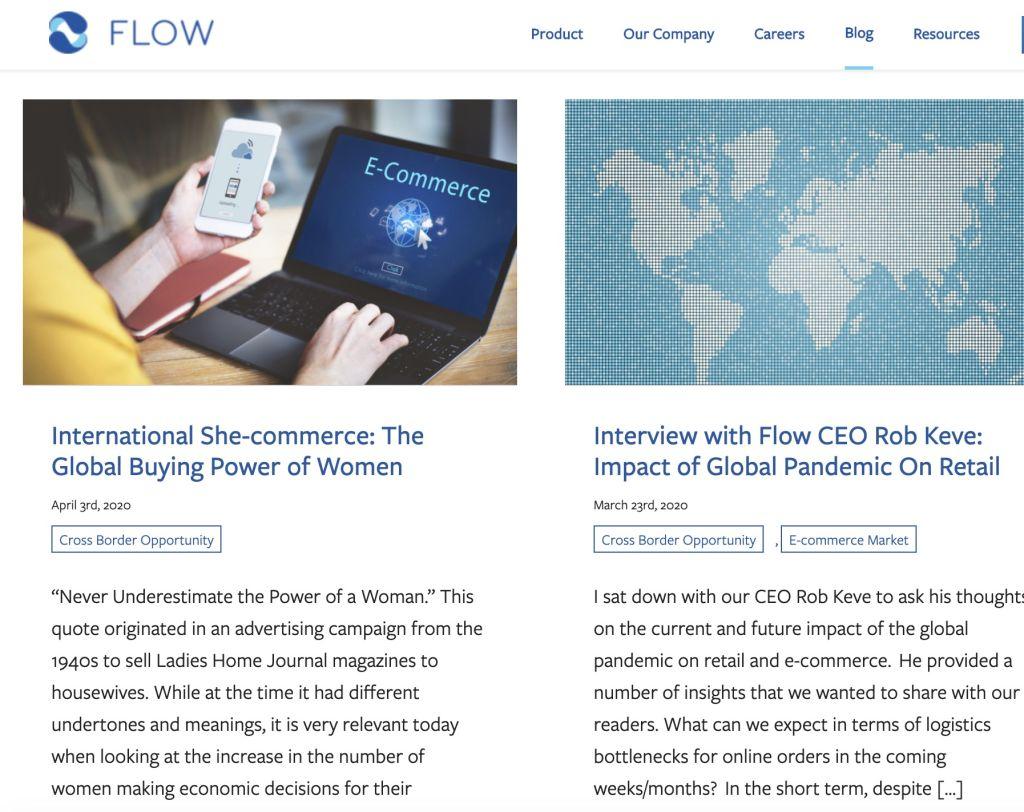 Flow Commerce Blog