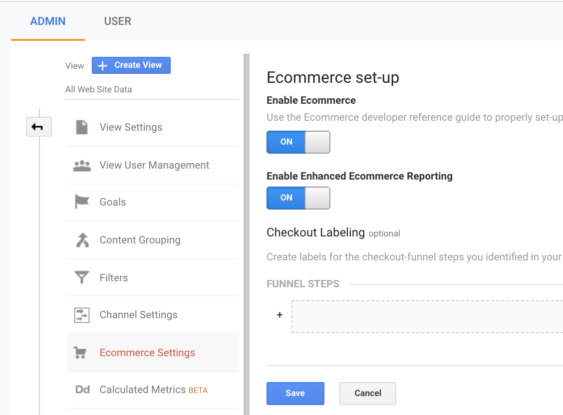 Enhanced Ecommerce Google Analytics
