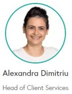 Alexandra Dimitriu - Head of Client Services