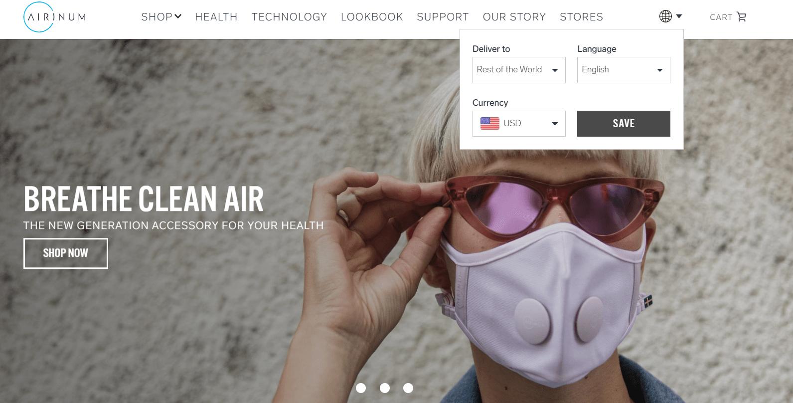 airnium easyship client example