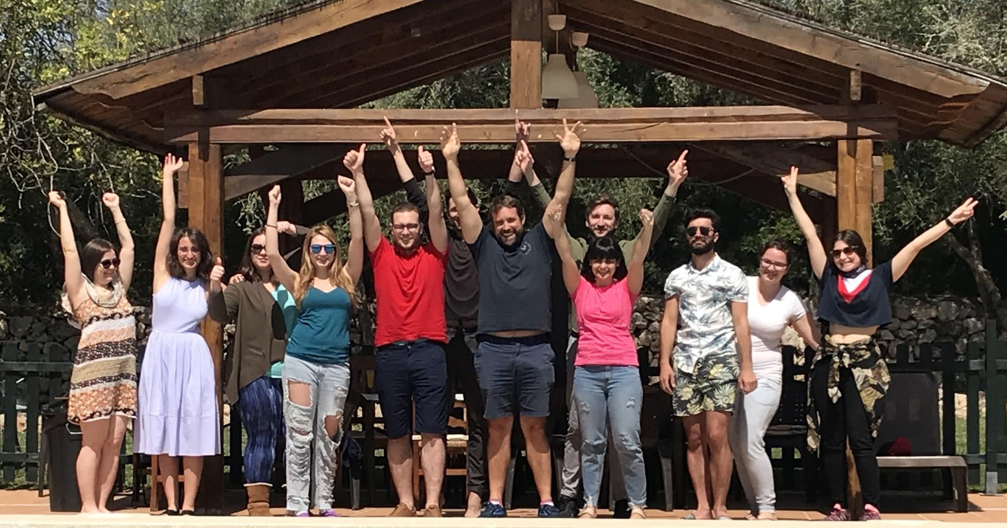 Littledata team in Mallorca