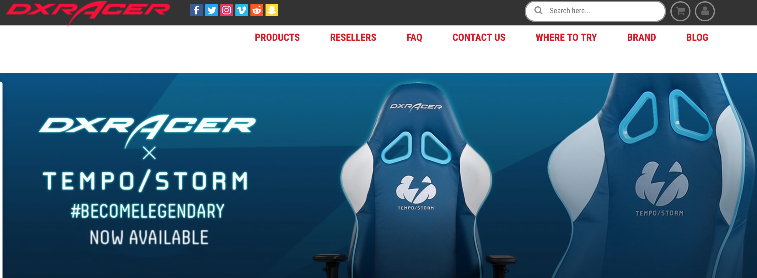 dx racer gaming chairs refersion ecommerce store