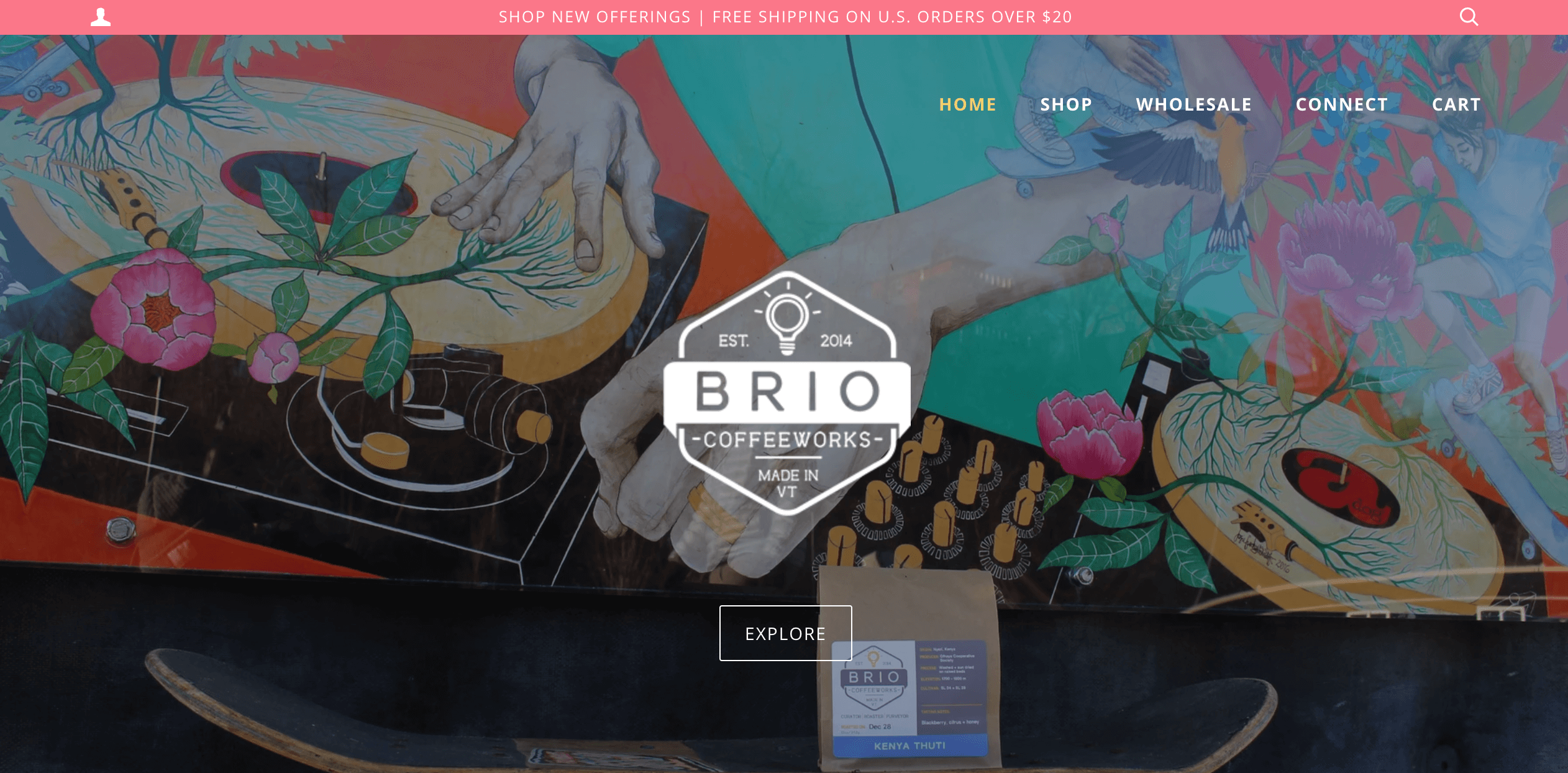 Brio coffeeworks shopify recharge connection by littledata
