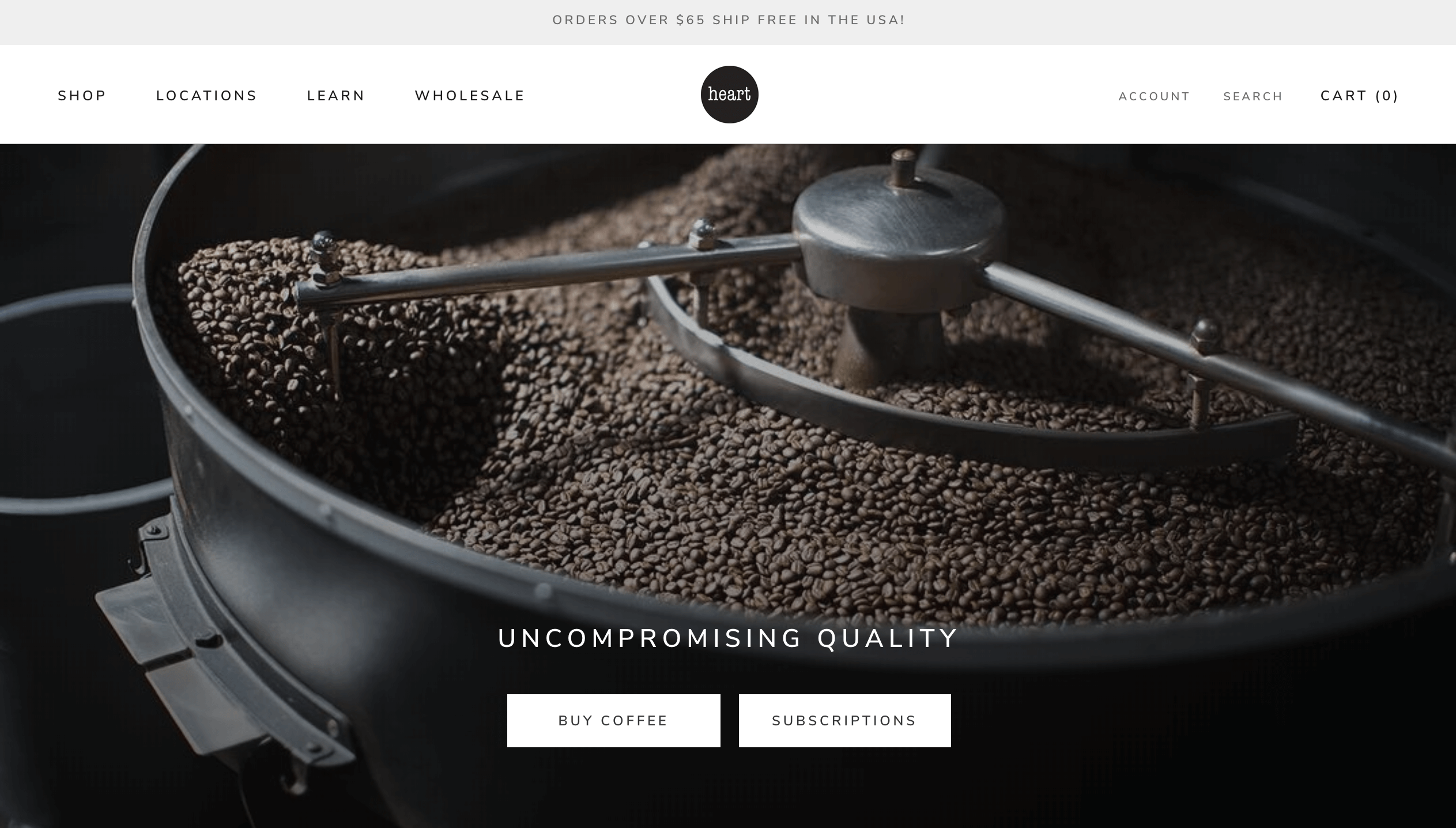 Heart coffee roasters shopify recharge connection by littledata