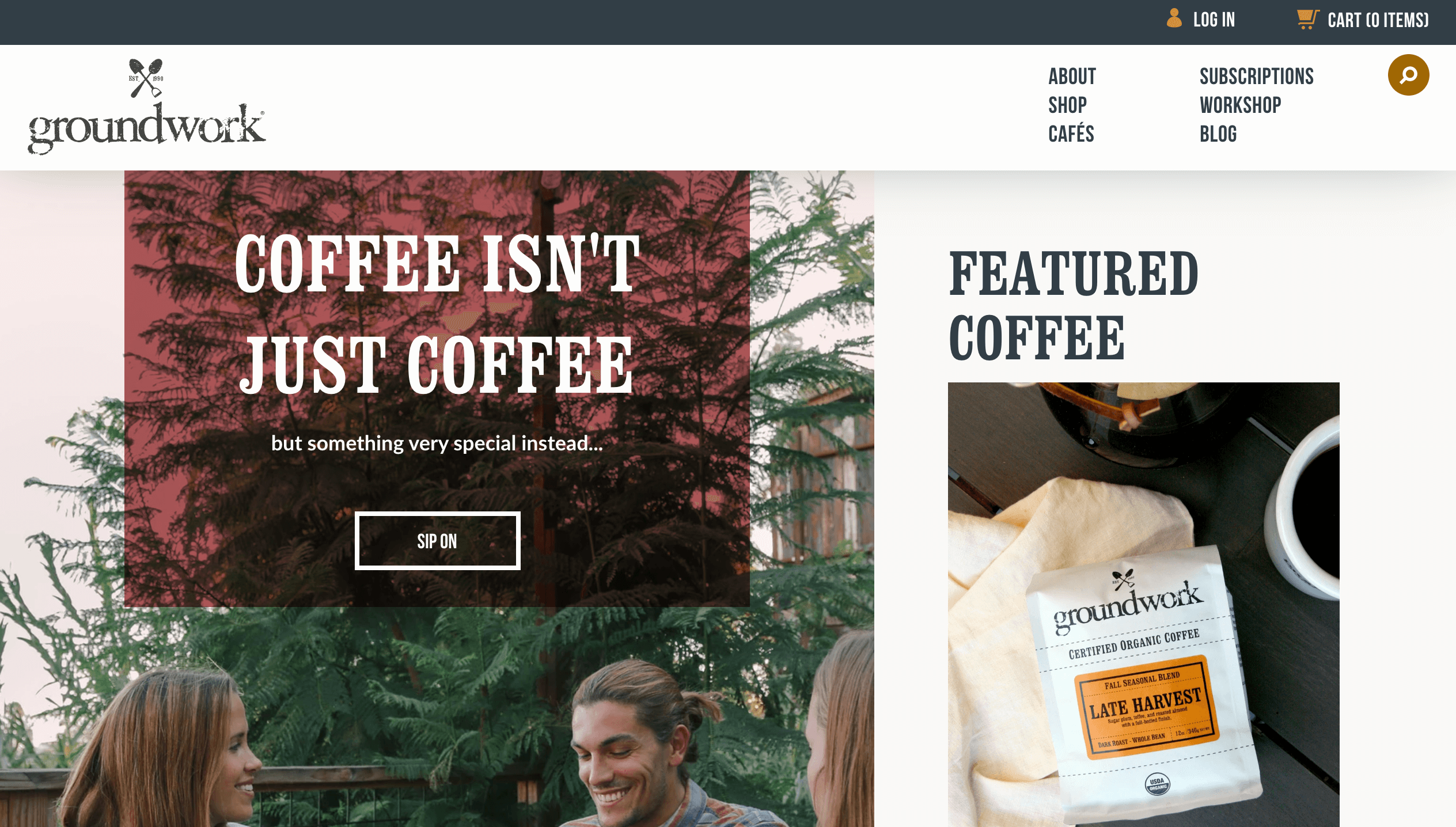 groundwork coffee shopify recharge connection by littledata