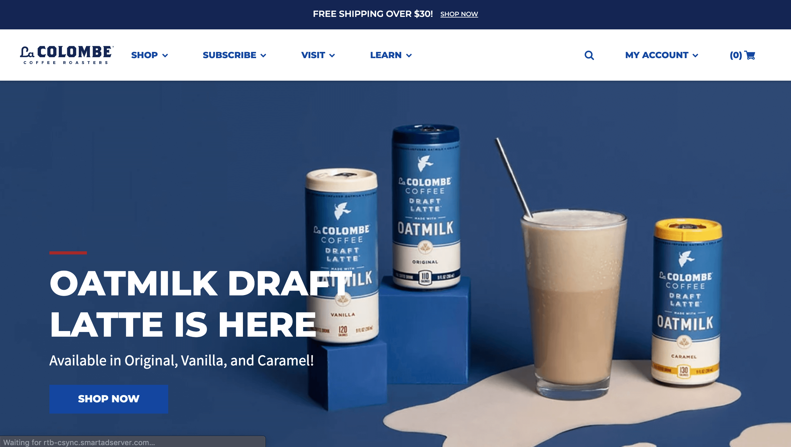 la colombe coffee shopify recharge connection by littledata