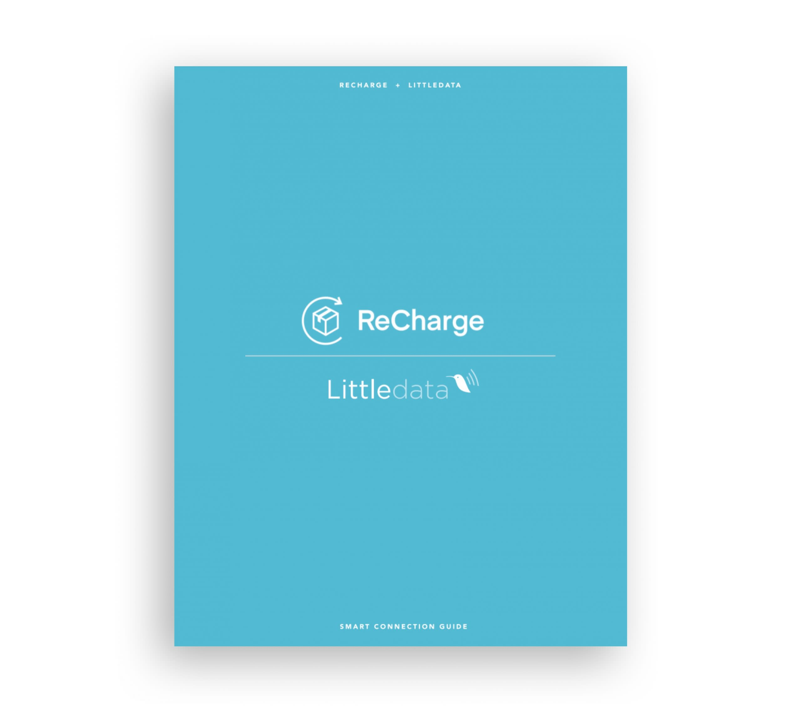 shopify recharge smart connection guide for google analytics or segment, by Littledata
