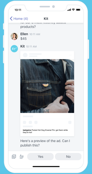 Kit Shopify app