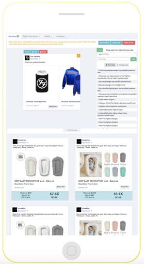 Vantage Shopify app