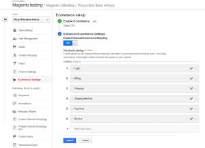 enable enhanced ecommerce to install tatvic plugin