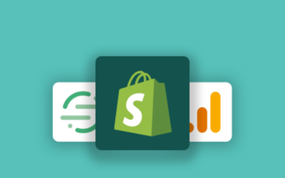 google analytics app featured in shopify app store