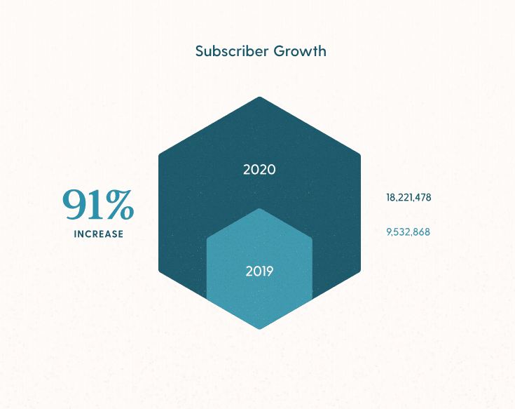 ecommerce subscriber growth