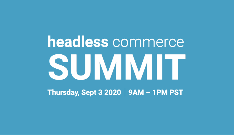 headless commerce event