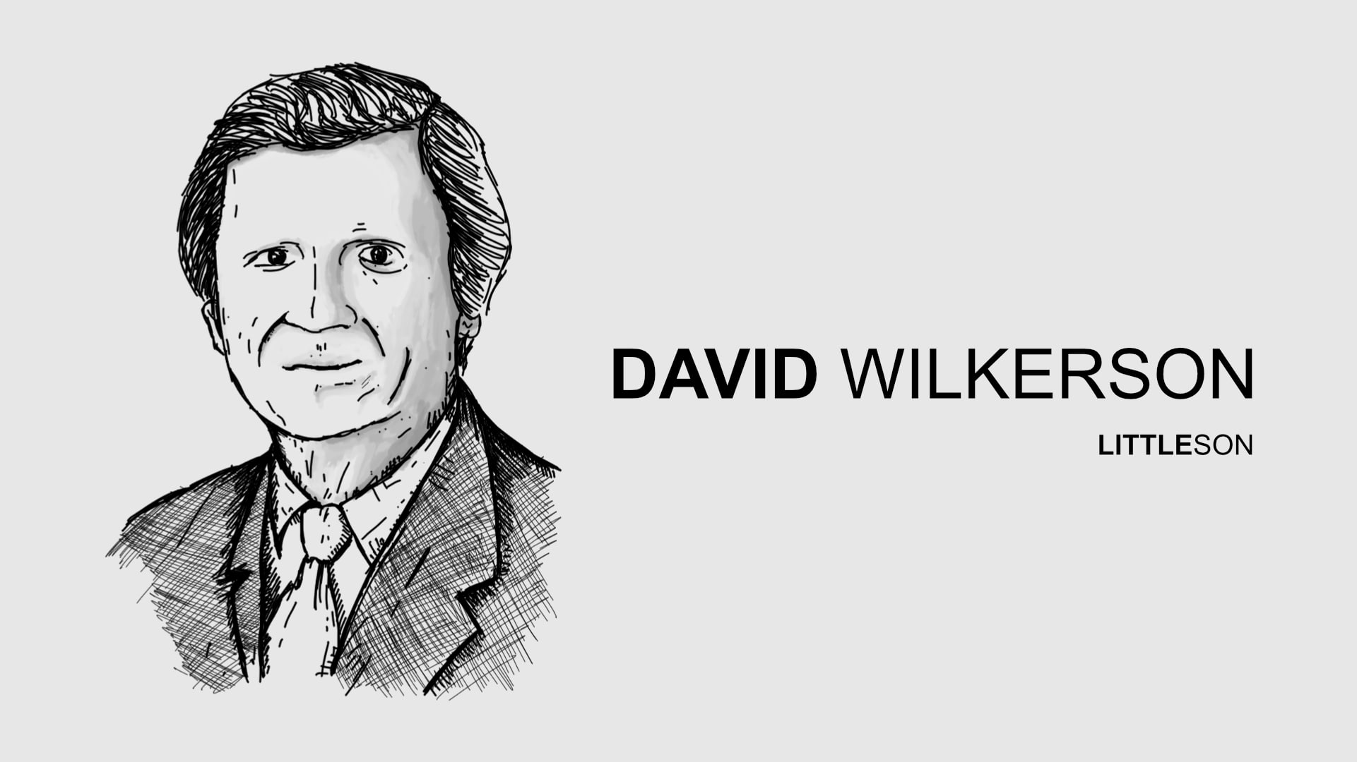 Little Figuras - David Wilkerson