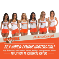 Become A Hooters Girl
