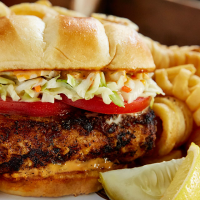 Blackened Mahi-Mahi Sandwich
