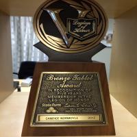 Bronze Tablet Award 2012