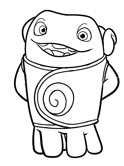 boov coloring pages - photo#4
