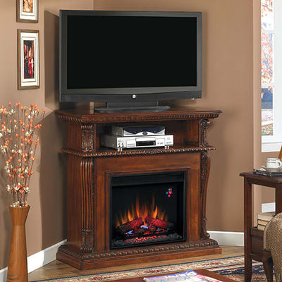 Select a Color - Classic Flame Corinth Electric Fireplace Entertainment Center
