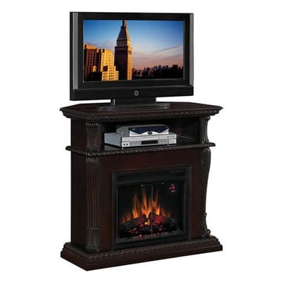Classic Flame Corinth Electric Fireplace Entertainment Center Secondary  Image - Classic Flame Corinth Electric Fireplace Entertainment Center