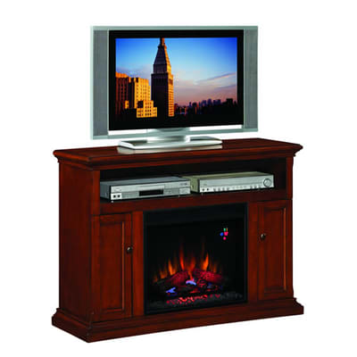 Classic Flame Cannes Electric Fireplace Entertainment Center Video Image - Classic Flame Cannes Electric Fireplace Entertainment Center