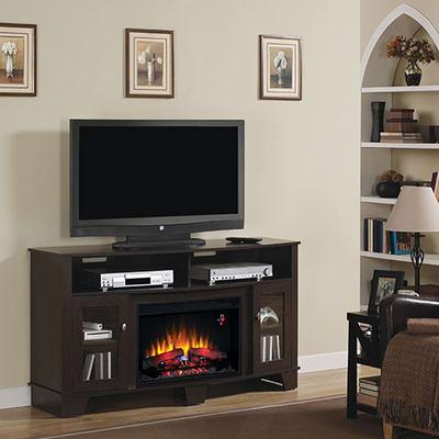 Classic Flame La Salle Media Console Electric Fireplace Video Image - Classic Flame La Salle Media Console Electric Fireplace - 26MM4995
