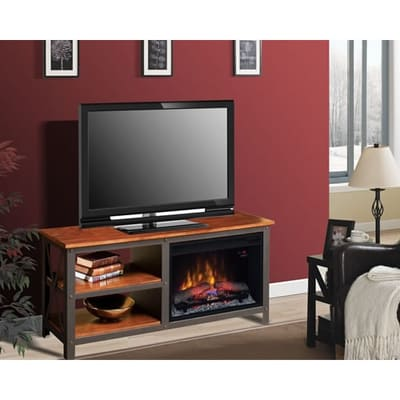Classic Flame Grainger Electric Fireplace Media Console Video Image - Classic Flame Grainger Electric Fireplace Media Console - 26MM8552