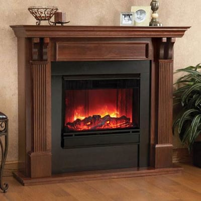 Real Flame Ashley Electric Fireplace Secondary Image - Real Flame Ashley Electric Fireplace - 7100E