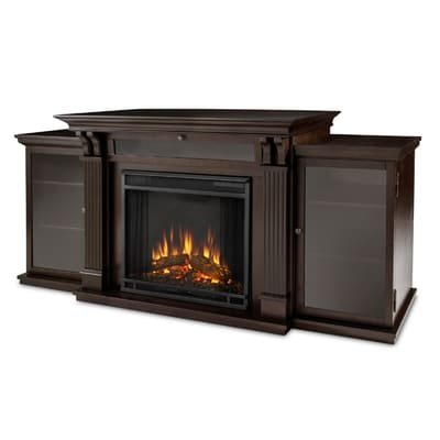 Real Flame Calie Media Console Electric Fireplace Secondary Image - Real Flame Calie Media Console Electric Fireplace - 7720E-DW