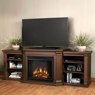 Real Flame Valmont Electric Fireplace Media Console Video Image - Real Flame Valmont Electric Fireplace Media Console - 7930E-CO