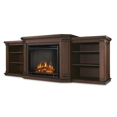 Real Flame Valmont Electric Fireplace Media Console Secondary Image - Real Flame Valmont Electric Fireplace Media Console - 7930E-CO
