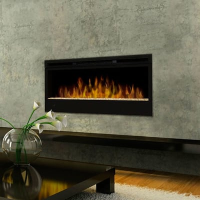 Dimplex Linear Wall-Mount Electric Fireplace Secondary Image - Dimplex Linear Wall-Mount Electric Fireplace - BLF50