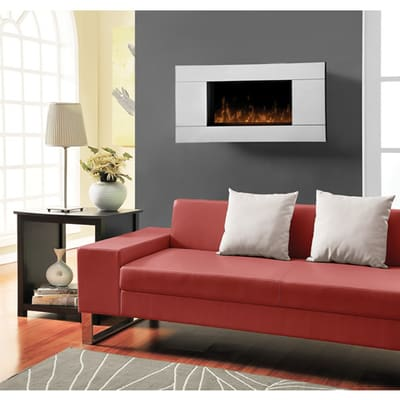 Dimplex Reflections Wall Mounted Electric Fireplace Primary Image - Dimplex Reflections Wall Mounted Electric Fireplace - DWF-13293A